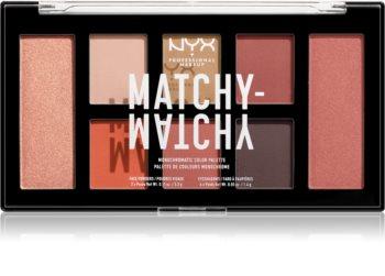 NYX Professional Makeup Matchy-Matchy палитра сенки за очи