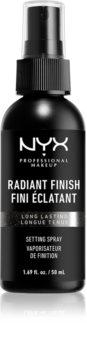 NYX Professional Makeup Radiant Finish Setting Spray rozjasňující fixační sprej