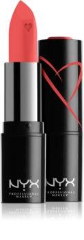 NYX Professional Makeup Shout Loud krémová hydratační rtěnka