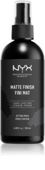 NYX Professional Makeup Makeup Setting Spray Matte spray fixador
