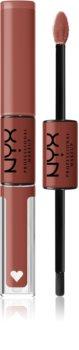 NYX Professional Makeup Shine Loud High Shine Lip Color течно червило със силен гланц
