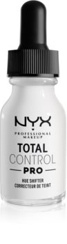 NYX Professional Makeup Total Control Pro Hue Shifter pigmenti di fondotinta in gocce