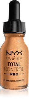 NYX Professional Makeup Total Control Pro Illuminator folyékony bőrélénkítő