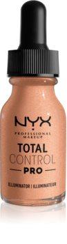 NYX Professional Makeup Total Control Pro Illuminator течен хайлайтър