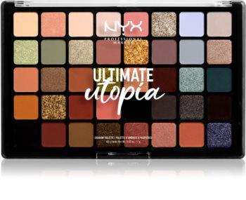 NYX Professional Makeup Ultimate Utopia palette de fards à paupières