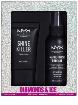 NYX Professional Makeup Diamonds & Ice козметичен комплект (за перфектна кожа)