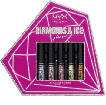 NYX Professional Makeup Diamonds & Ice coffret cosmétique II. (yeux)