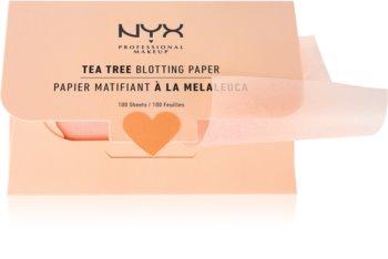 NYX Professional Makeup Blotting Paper papírky na zmatnění