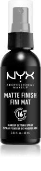 NYX Professional Makeup Makeup Setting Spray Matte spray fijador