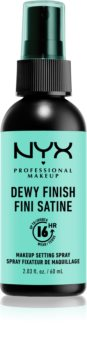 NYX Professional Makeup Dewy Finish spray fixateur