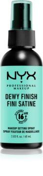 NYX Professional Makeup Dewy Finish sprej za učvršćivanje