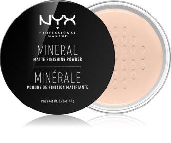 NYX Professional Makeup Mineral Finishing Powder minerální pudr