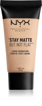 NYX Professional Makeup Stay Matte But Not Flat tekući puder s mat finišem