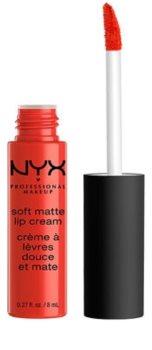 NYX Professional Makeup Soft Matte Lip Cream rouge à lèvres léger liquide mat