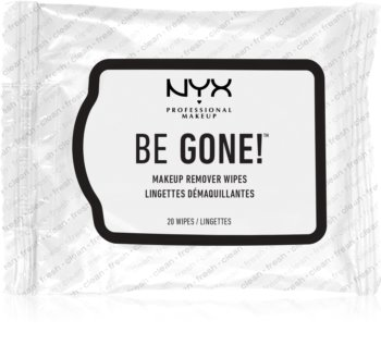 NYX Professional Makeup Be Gone! salviette struccanti per fondotinta