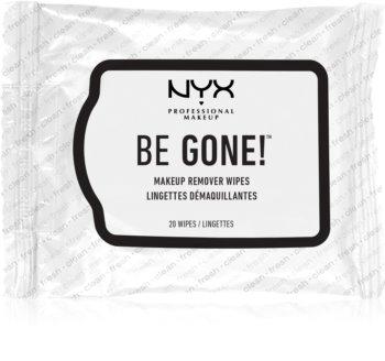 NYX Professional Makeup Be Gone! Servetter för sminkborttagning