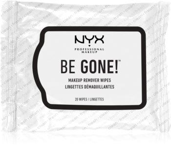 NYX Professional Makeup Be Gone! toalhitas desmaquilhantes