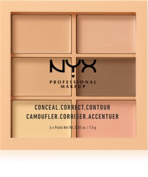 NYX Professional Makeup Conceal. Correct. Contour Konturen- und Concealer-Palette