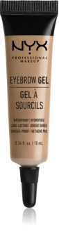 NYX Professional Makeup Eyebrow Gel gel para sobrancelhas à prova d'água