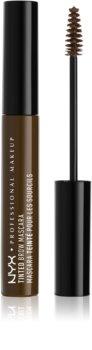 NYX Professional Makeup Tinted Brow Mascara szempillaspirál szemöldökre