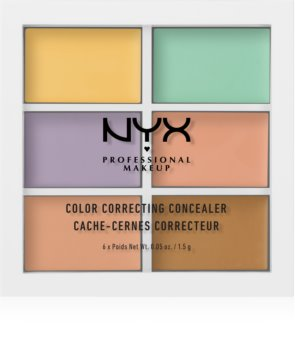 NYX Professional Makeup Color Correcting Concealer-Palette