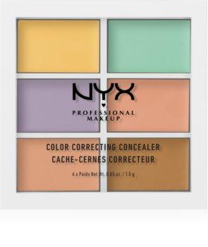 NYX Professional Makeup Color Correcting палитра коректори