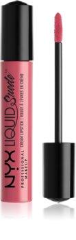 NYX Professional Makeup Liquid Suede™ Cream ruj de buze lichid, rezistent la apă și cu finisaj matifiant