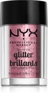 NYX Professional Makeup Glitter Goals Arc és test csillám
