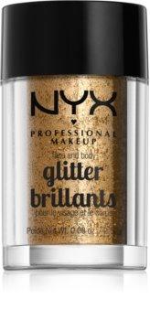 NYX Professional Makeup Glitter Goals šljokice za lice i tijelo