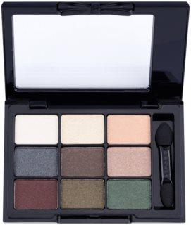 NYX Professional Makeup Love in Paris paleta farduri de ochi cu aplicator