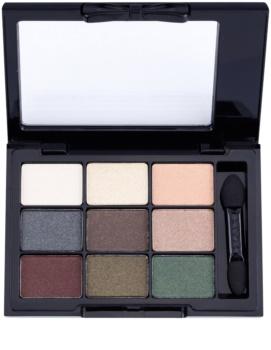 NYX Professional Makeup Love in Paris paleta očních stínů s aplikátorem