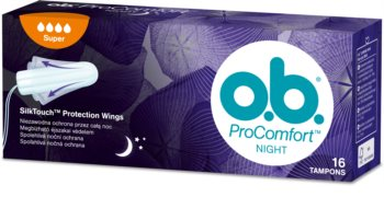 o.b. Pro Comfort Night Super Tampons