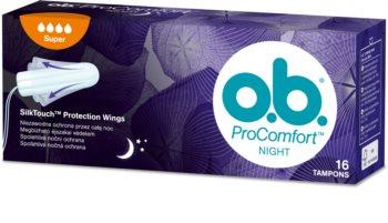 o.b. Pro Comfort Night Super тампони