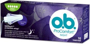 o.b. Pro Comfort Night Super+ tampons pour la nuit