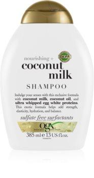 OGX Coconut Milk хидратиращ шампоан с кокосово масло