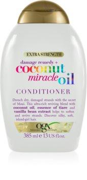 OGX Coconut Miracle Oil balsam pentru întărirea părului cu ulei de cocos