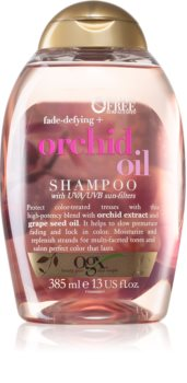 OGX Orchid Oil ochranný šampon pro barvené vlasy