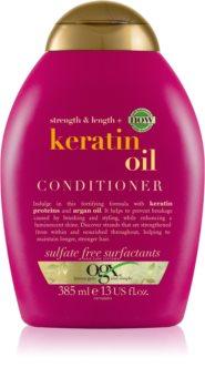 OGX Keratin Oil stärkender Conditioner mit Keratin und Arganöl