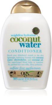 OGX Coconut Water feuchtigkeitsspendender Conditioner für trockenes Haar