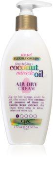 OGX Coconut Miracle Oil Nährende Hitzeschutz-Creme für ein schnelleres Föhn-Styling