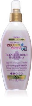 OGX Coconut Miracle Oil fixativ pentru păr, cu fixare ușoară fara aerosoli