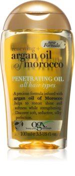 OGX Argan Oil Of Morocco nährendes Öl für glänzendes und geschmeidiges Haar