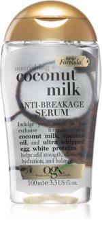 OGX Coconut Milk stärkendes Serum für geschwächtes Haar
