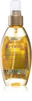 OGX Keratin Oil подхранващо масло за коса в спрей