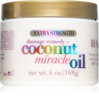OGX Coconut Miracle Oil mască profund fortifiantă pentru păr cu ulei de cocos