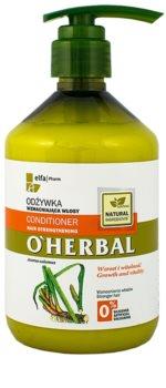 O'Herbal Acorus Calamus condicionador fortificante para cabelo fraco