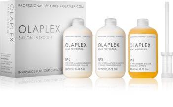 Olaplex Professional Salon Kit Set (For Damaged And Colored Hair)