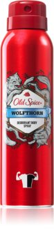 Old Spice Wolfthorn deodorante spray per uomo