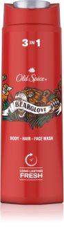 Old Spice Bearglove Vartalo- ja Hiussuihkugeeli