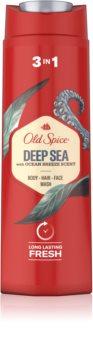Old Spice Deep Sea душ гел  за мъже